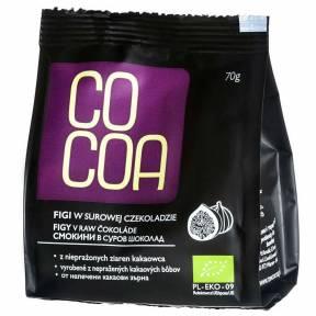 Smochine invelite ciocolata raw-vegana, ECO, 70 g, Cocoa
