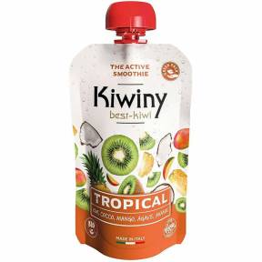 Smoothie cu fructe, Tropical, ECO, 100 g, Kiwiny