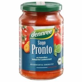 Sos de rosii cu legume Pronto ECO 340 g, Dennree