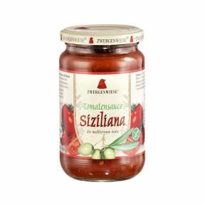Sos de rosii sicilian ECO 350 g (340 ml), Zwergenwiese
