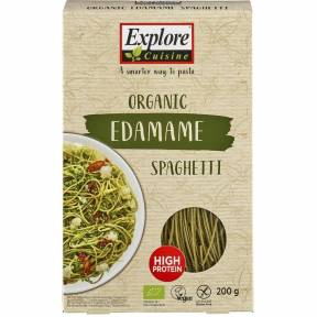 Spaghetti din edamame, fara gluten, ECO, Explore Cuisine