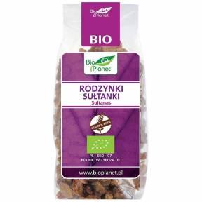 Stafide Sultana fara gluten, ECO, 200 g, Bio Planet