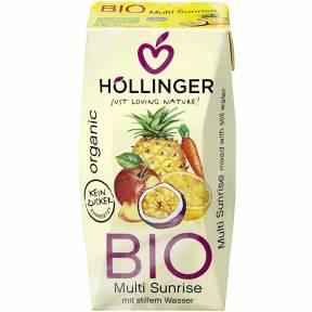 Suc de fructe Multi-Sunrise, ECO, 200 ml, Hollinger