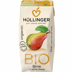 Suc de pere, ECO, 200 ml, Hollinger