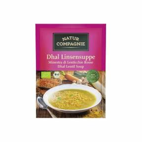 Supa de linte rosie ECO 60 g, Natur Compagnie