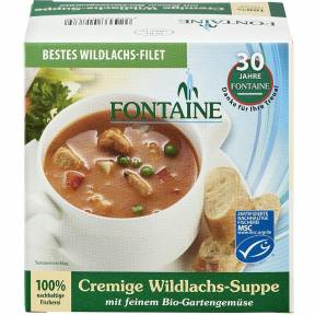 Supa de somon salbatic 400 ml, Fontaine