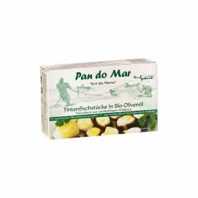 Tentacule de calmar in ulei eco de masline 120 g, Pan Do Mar
