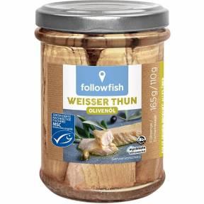 Ton alb in ulei de masline 165 g, Followfish