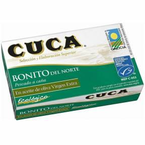 Ton alb, in ulei de masline ECO extravirgin , 112 g, Cuca