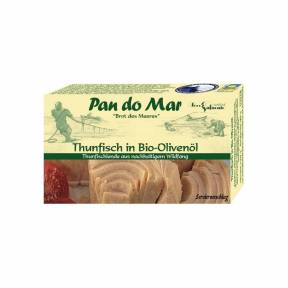 Ton in ulei de masline ECO 120 g, Pan Do Mar