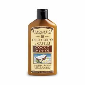 Ulei de cocos si monoi pentru corp si par 200 ml, Athena's Erboristica