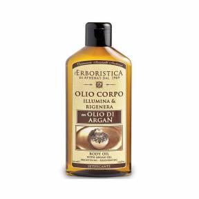 Ulei regenerant pentru corp cu ulei de argan, ulei seminte de in, ulei migdale dulci 200 ml