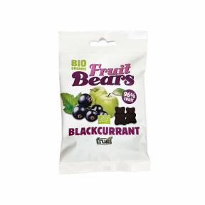 Ursuleti gumati – mere, coacaze negre, ECO, 50 g, Frugi