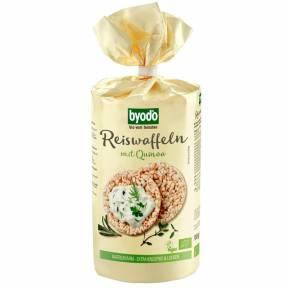 Vafe de orez integral cu quinoa ECO 100 g, Byodo