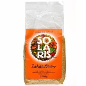 Zahar brun nerafinat 500 g, Solaris
