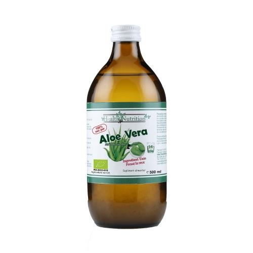 Aloe Vera BIO - suc 100% pur - Health Nutrition