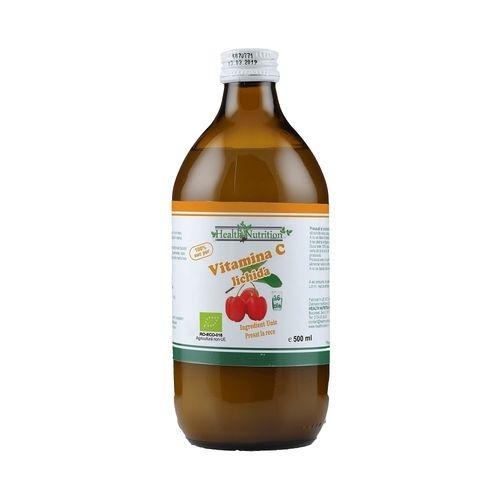 Vitamina C lichidă Bio 500 ml - Health Nutrition